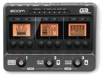 NAMM2011 ZOOM G3詳細情報。