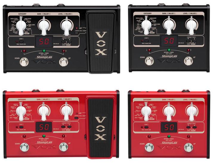 VOX StompLabが10月発売。