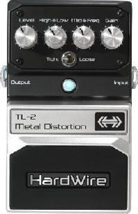 Digitech Hardwire Metal Distortion TL-2。