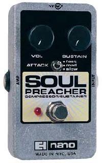 Electro Harmonix SOUL PREACHER。