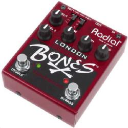 RadialからBones London dual distortion。