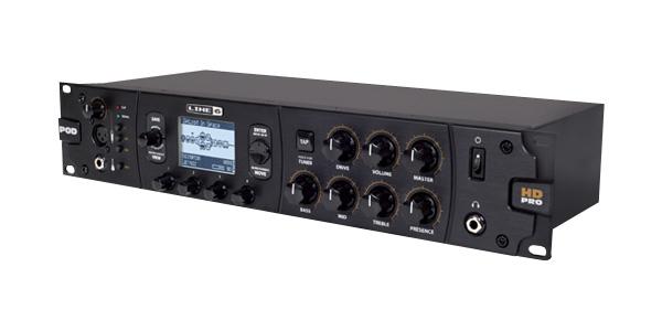 Line6 POD HD Pro出る。