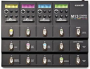 LINE6からM13 Stompbox Modeler登場。