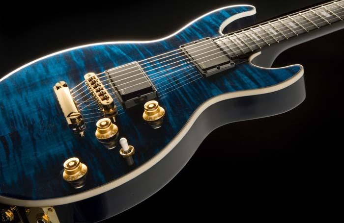 Gibsonの限定モデルがいっぱい。