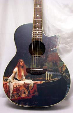 Luna Guitars が欲しくてたまらん。