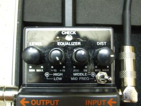 Mod MT-2とMod SD-1の設定。