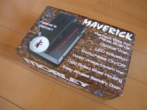 MORLEY MAVERICK Mini Switchless Wah。
