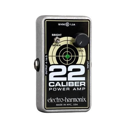 Electro-Harmonixからついに22 CALIBER出た!