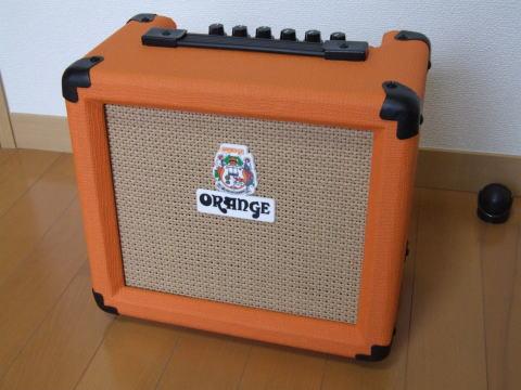OrangeのCRUSH10。