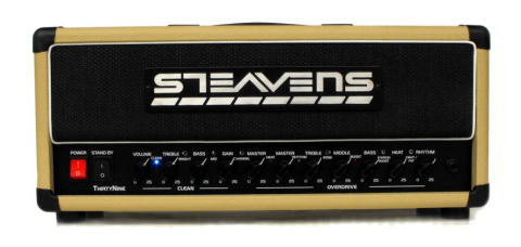 NAMM2011 Steavens Amps。