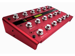 真っ赤なTC Electronic G-SYSTEM。