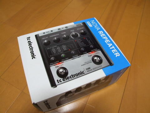 t.c.electronic / RPT-1 Nova Repeater買った!