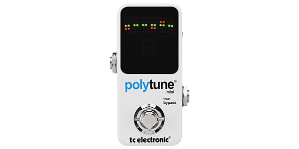 TC ELECTRONICからPolyTune Mini。