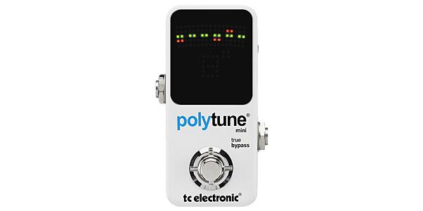TC ELECTRONICからPolyTune Mini。