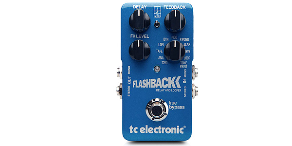 TC ELECTRONIC Flashback Delay。