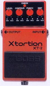 思い出のペダル 第五回BOSS XT-2 X-tortion。
