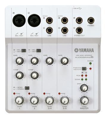 YAMAHA AUDIOGRAM6 でシンプルレコーディング。