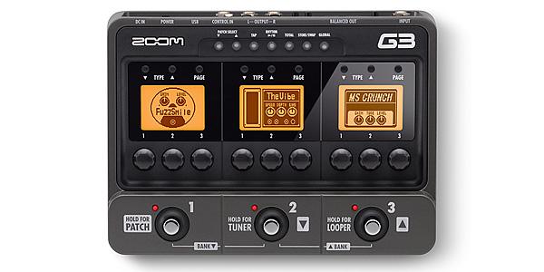 NAMM2011 ZOOM G3とか。