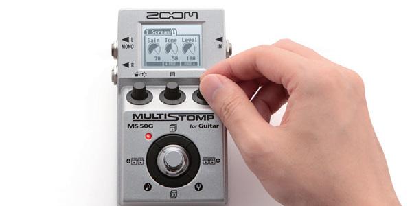 ZOOM MS-50G発売開始。