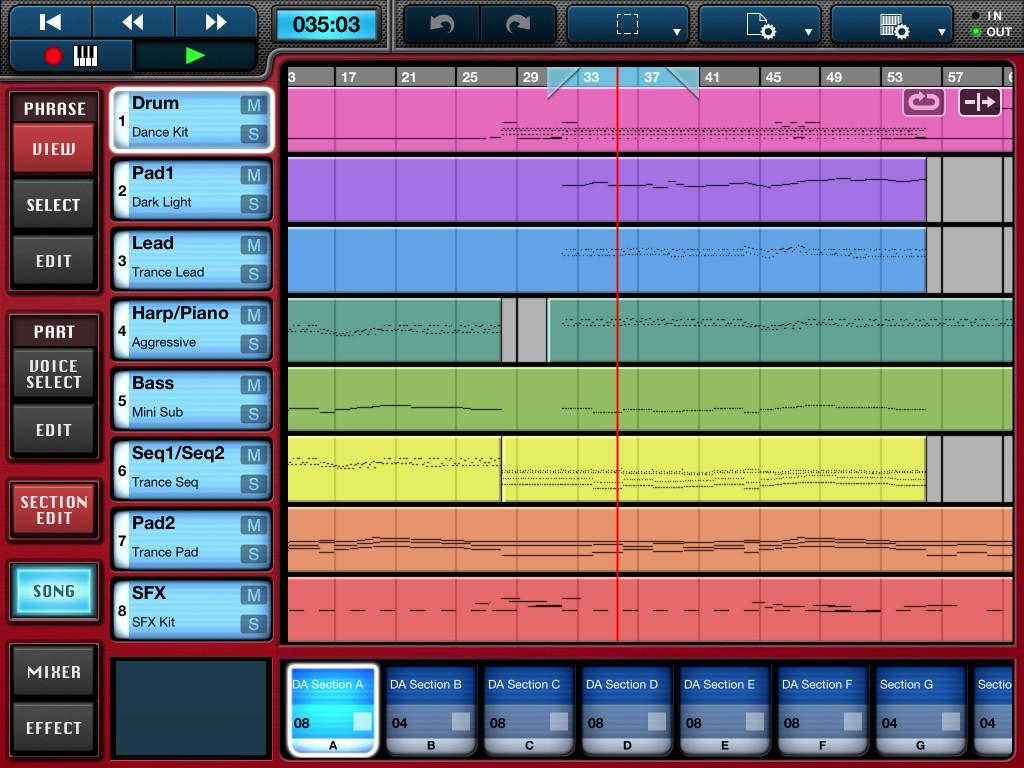 だれでも作曲できるMobile Music Sequencer V3.0。なんとQYもフッカツダー!!(゚∀゚ )三 三( ゚∀゚)フッカツダー!!だー