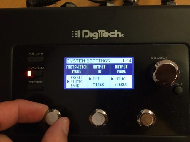実戦でDigitech RP360を使うことを想定してみる。