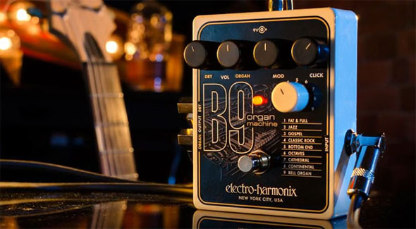 Electro-Harmonix B9 Organ Machineが超欲しい。