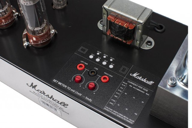 Marshall 2555X external bias points on chassis
