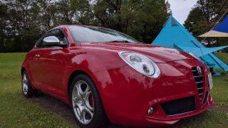 Alfa Romeo MiTo でキャンプへGOしてきました