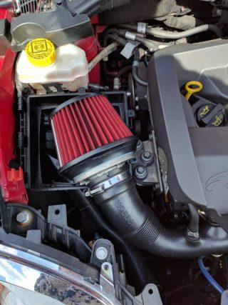 Alfa Romeo MiTo 汎用フィルターを装着した