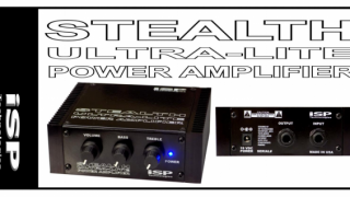 オンボードパワーアンプ iSP STEALTH ULTRA-LITE POWER AMPLIFIER