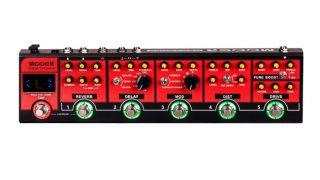 MOOER Red Truckが発売される様子